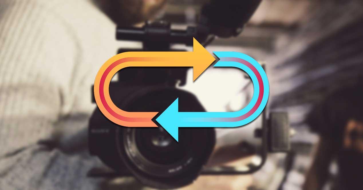 Efecto looping en vídeos