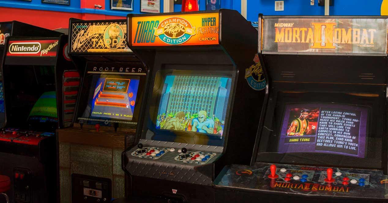 Juegos arcade retro