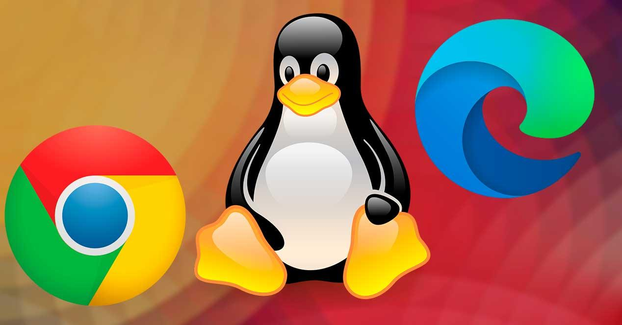 Linux Edge Chrome