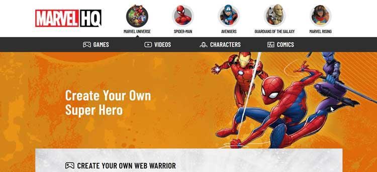 Marvel Creează-ți propriul
