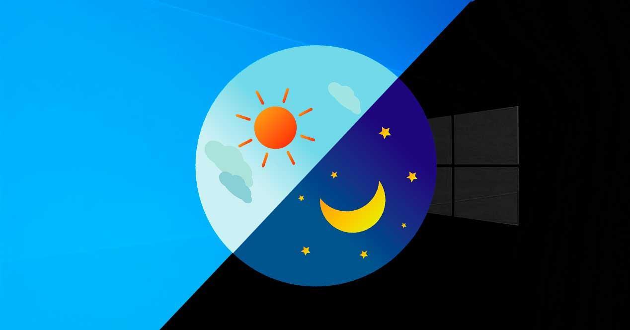 Nuevo modo oscuro Windows 10