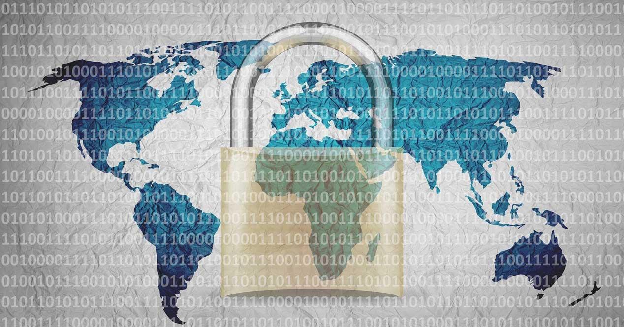Proteger datos contraseñas