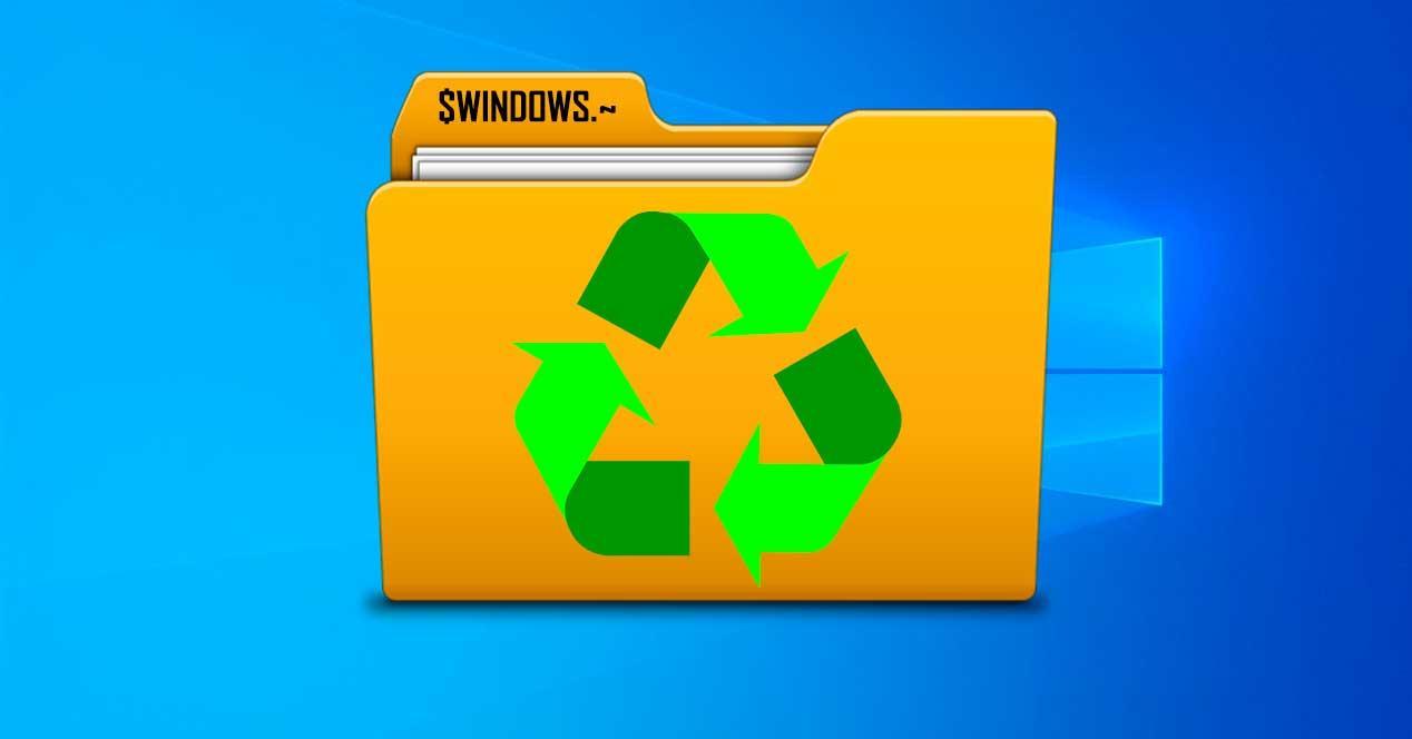 Reciclar carpeta $WINDOWS.~ Windows