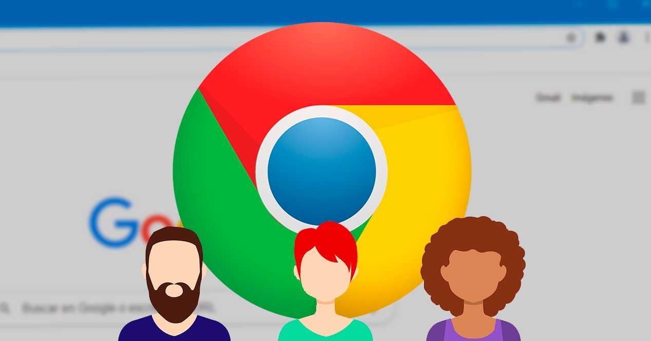 Usuarios Google Chrome