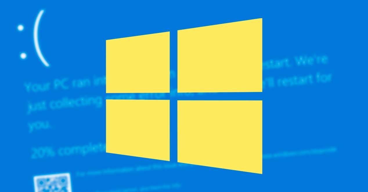 Windows 10 error pantallazo azul