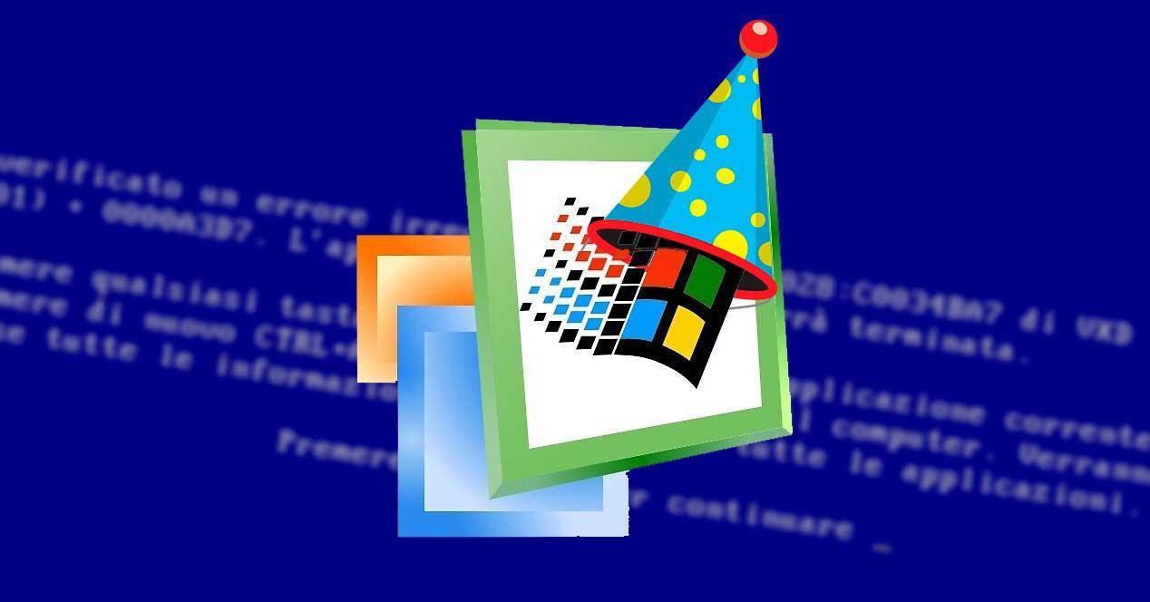 Windows ME cumpleaños