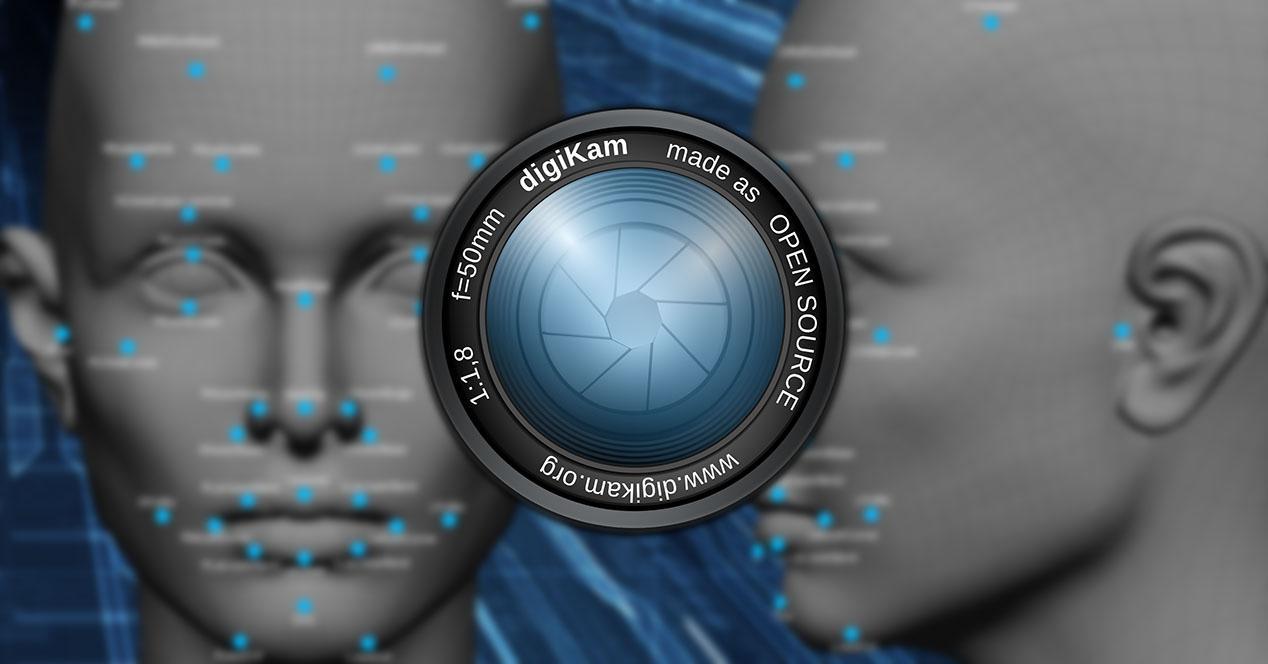 digiKam reconocimiento facial