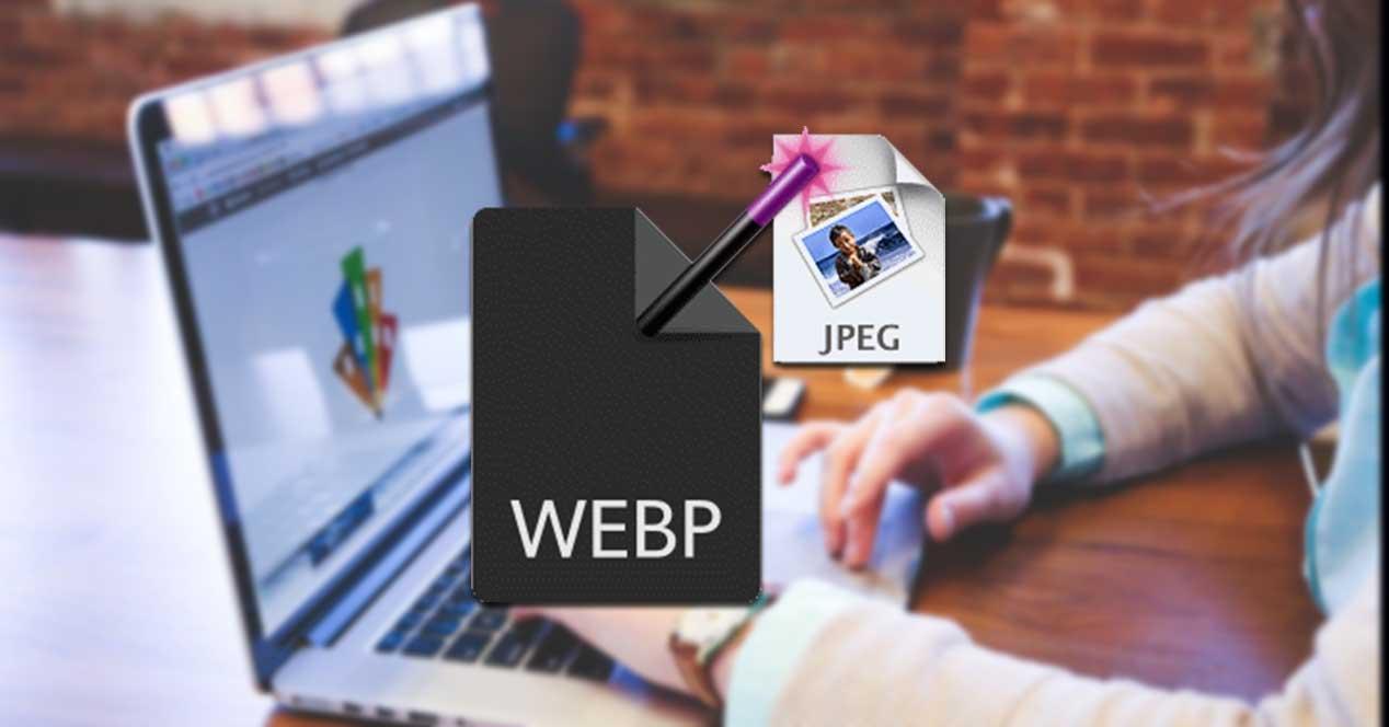 Programas y webs para convertir WebP a JPG o PNG