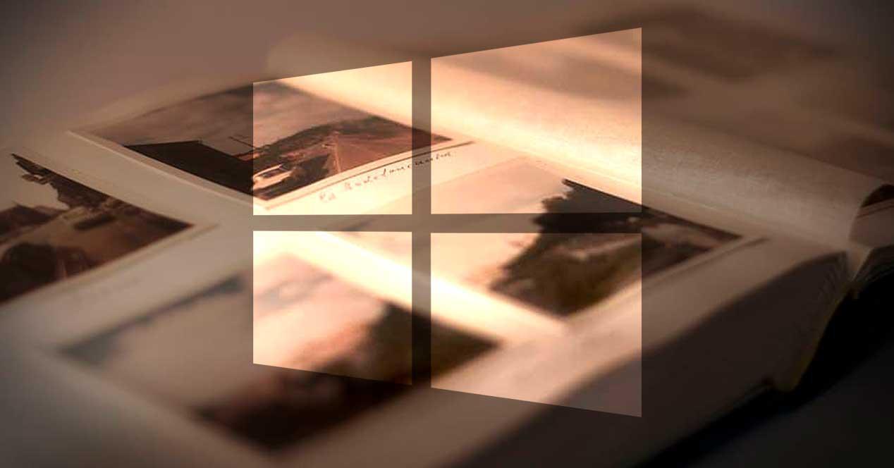 Álbum fotos Windows