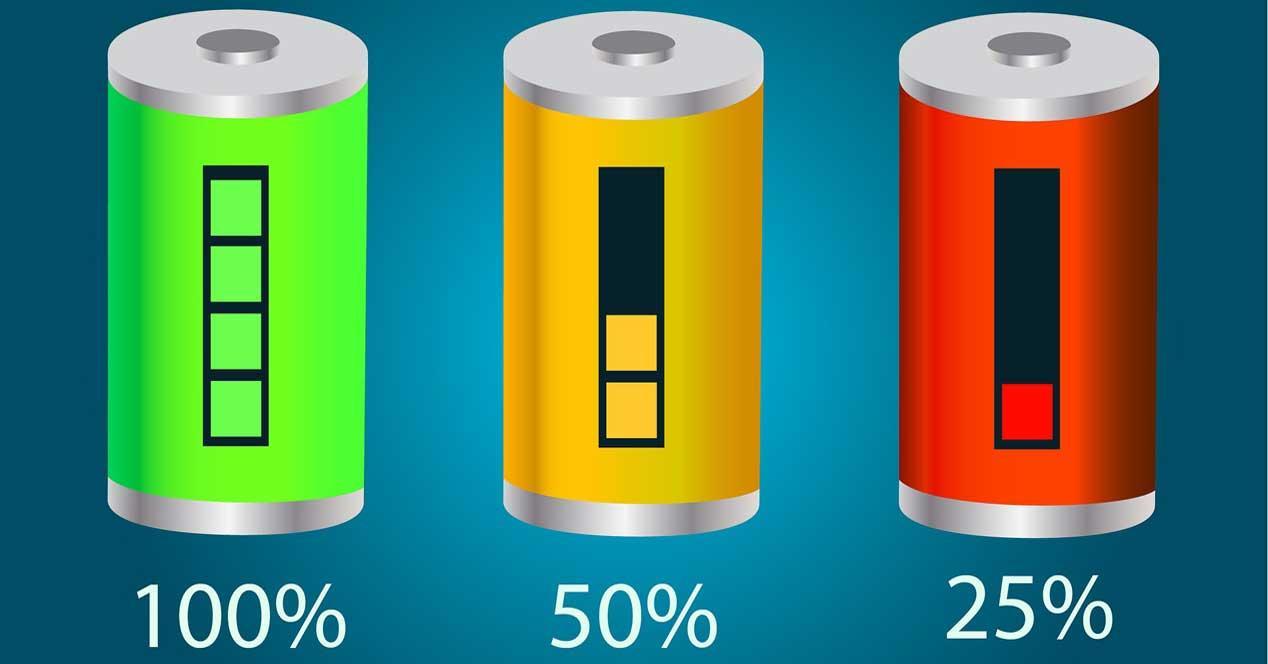 Bateria porcentaje