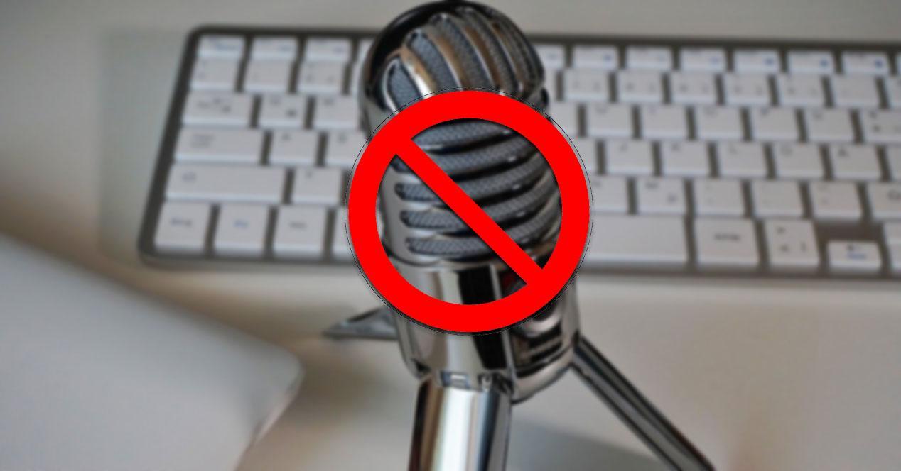 Deshabilitar el micrófono en Windows 10