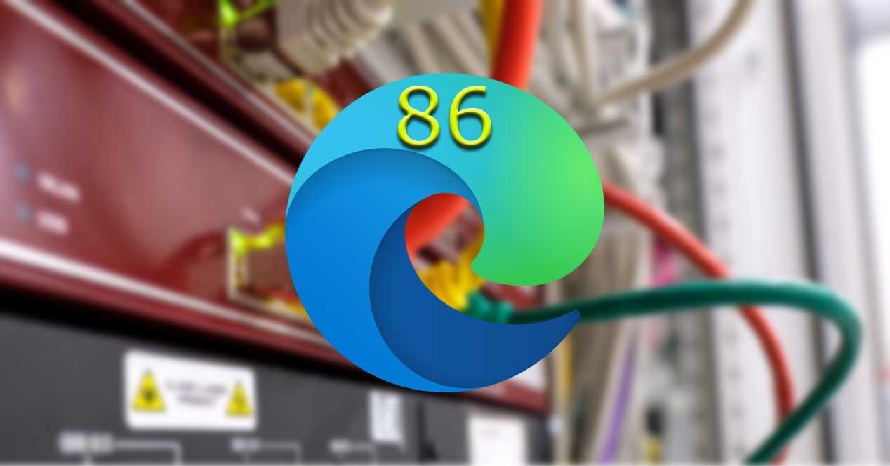 Edge 86 logo