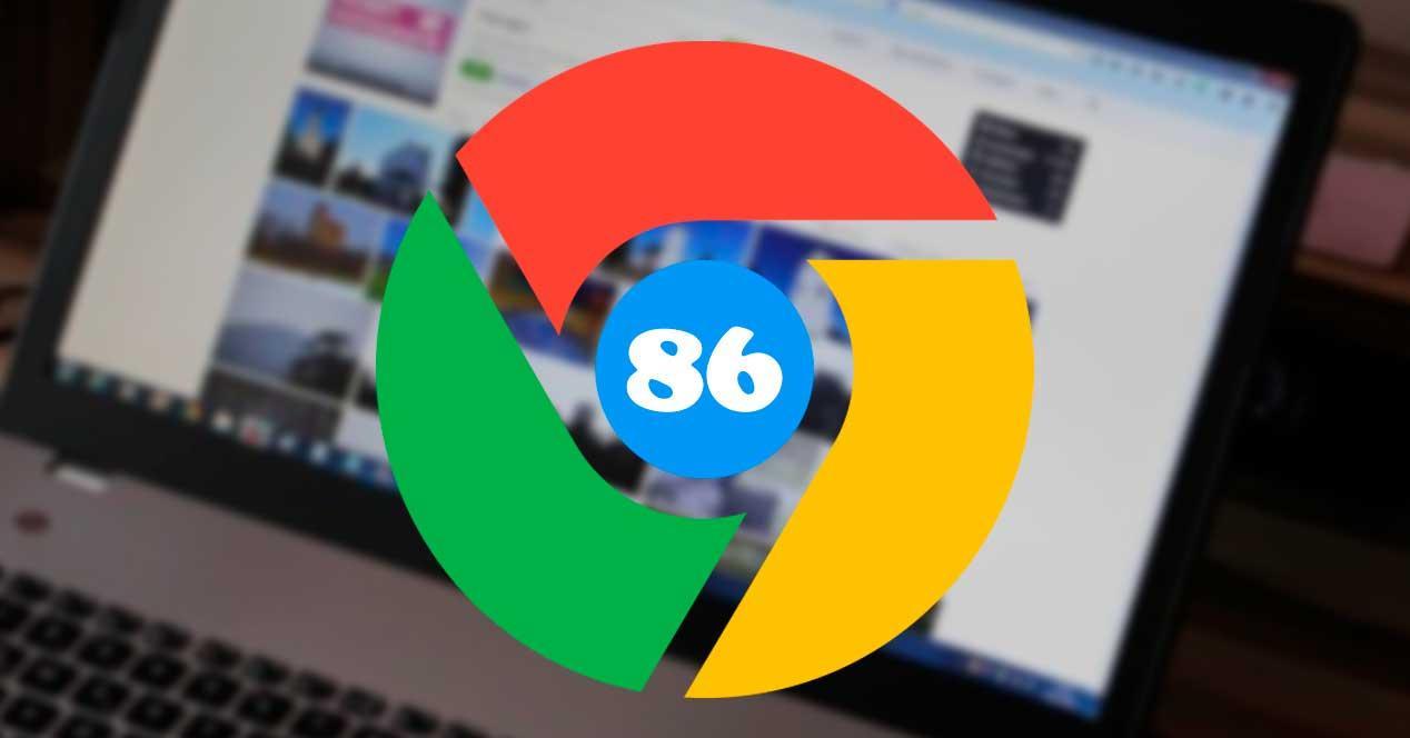 Navegador Google Chrome 86