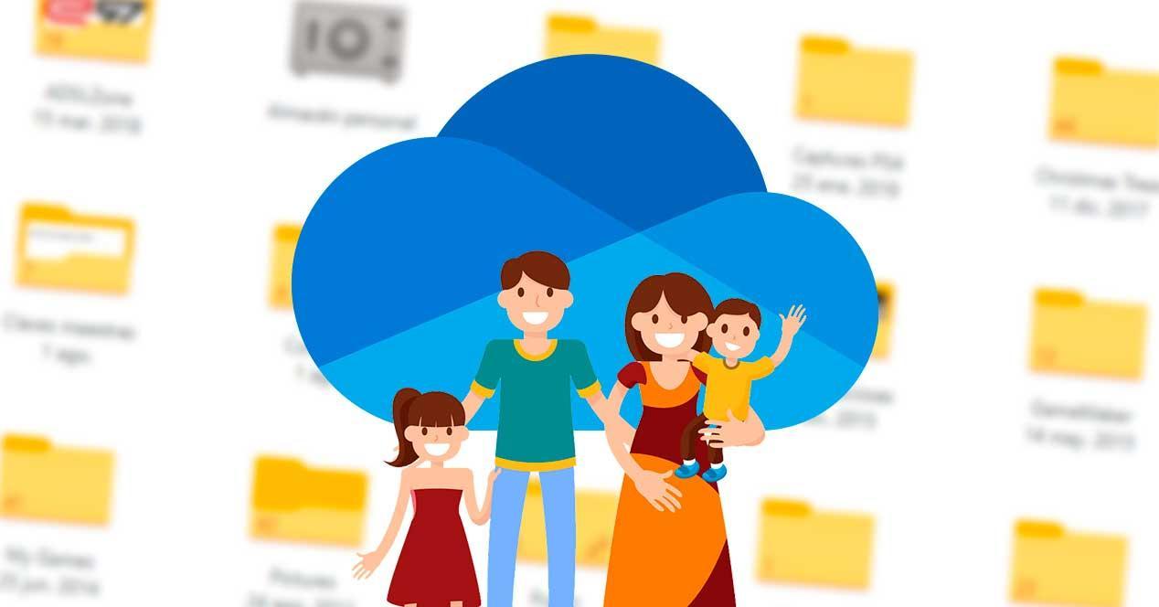 OneDrive familia