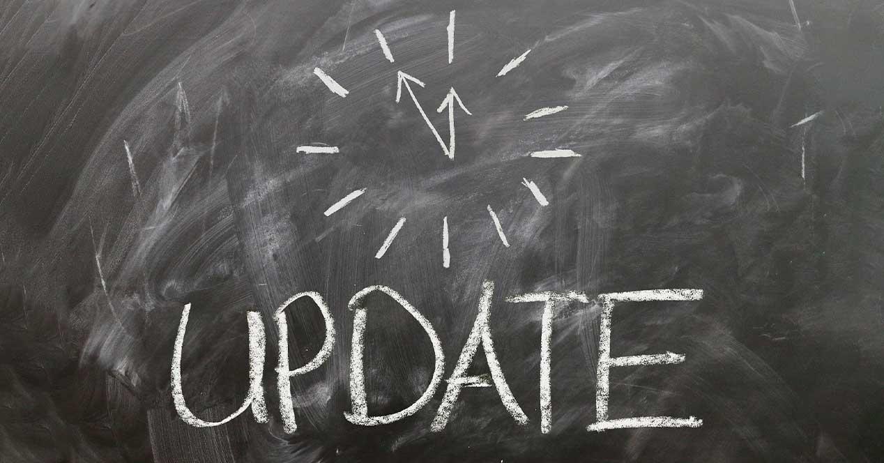 Update Windows lento