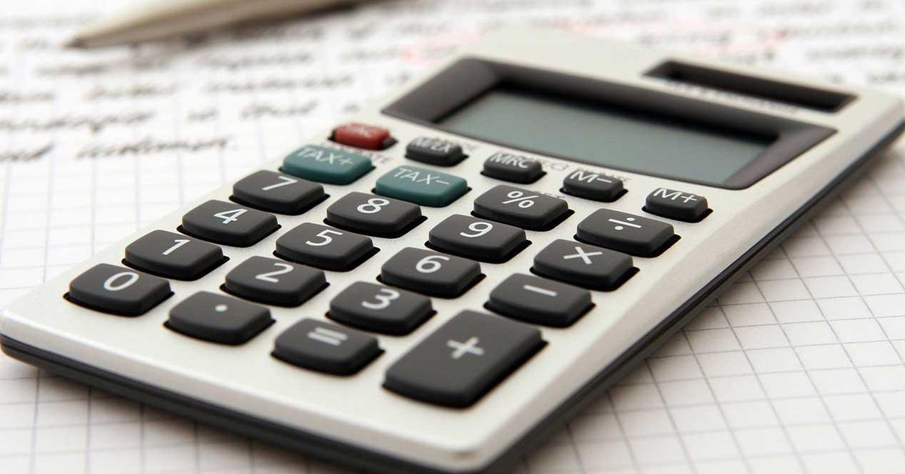 calculadora excel