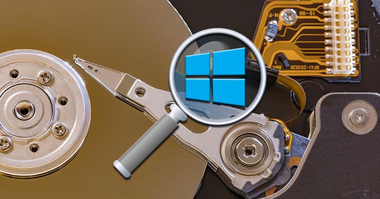 disco duro lupa