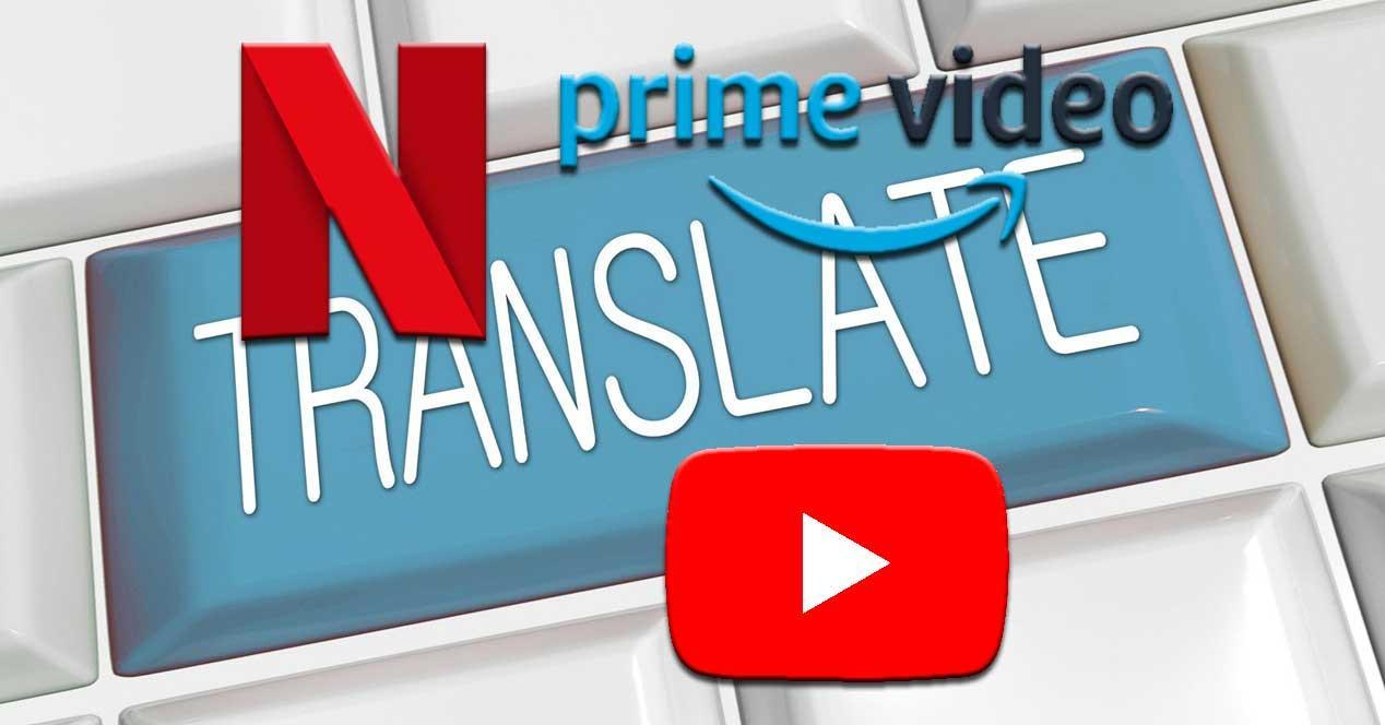 traducir netflix youtube