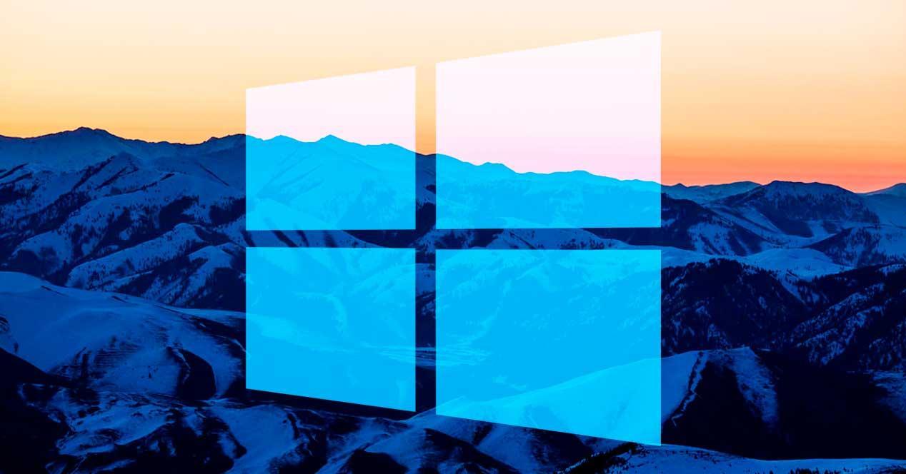 Amanecer valle Windows 10