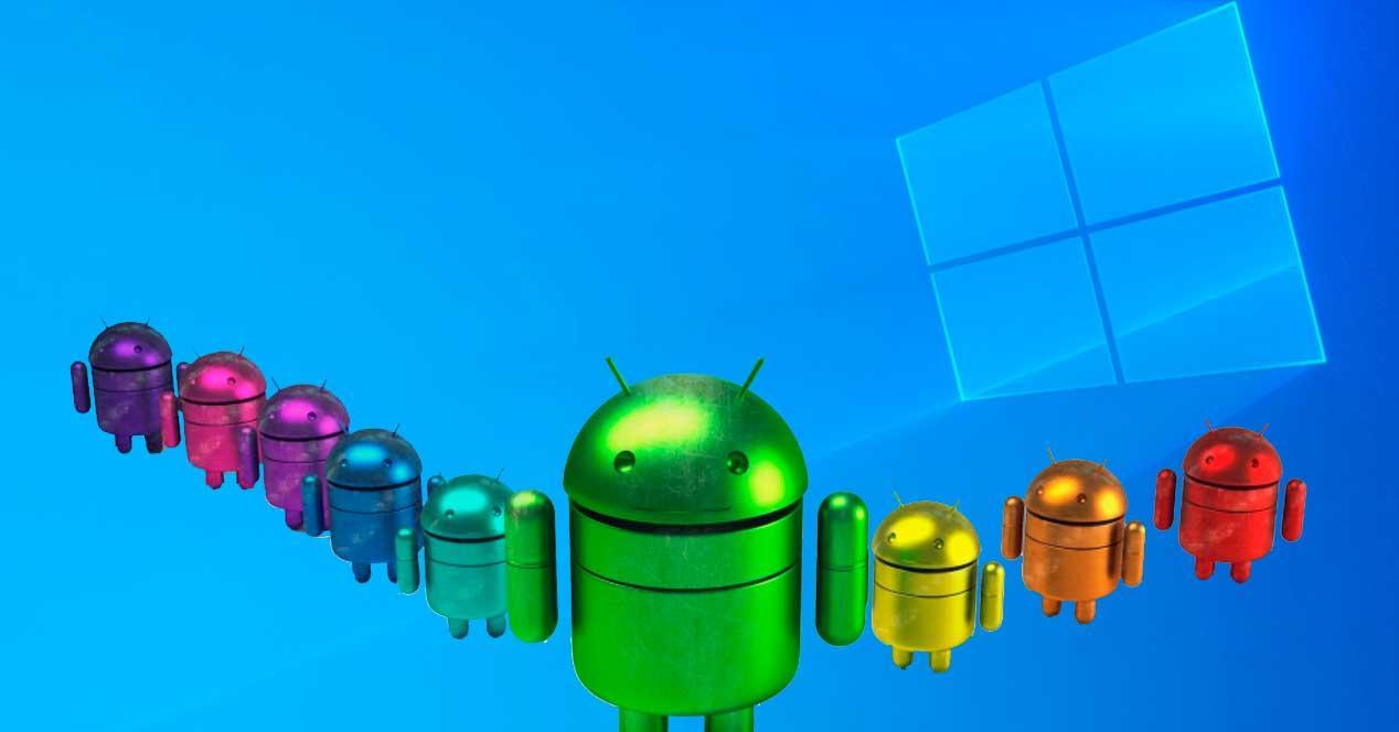 Android en Windows 10