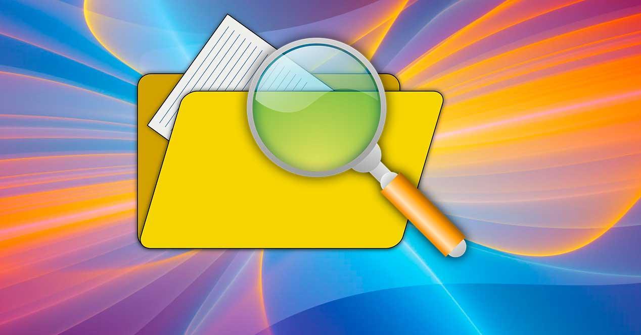 Buscar archivos PC