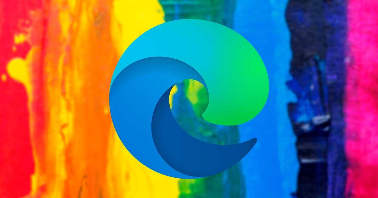 Edge colores