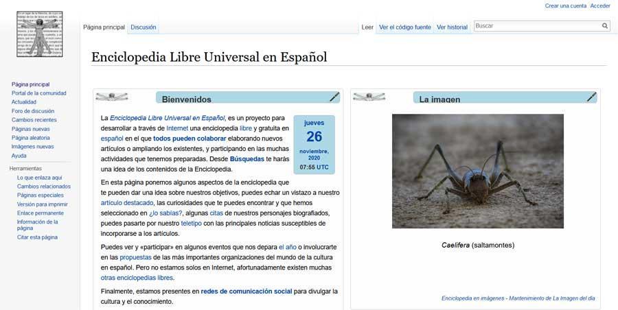 Enciclopedia Libre Universal en Español