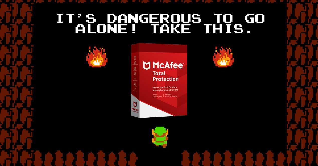 McAfee peligro ir solo