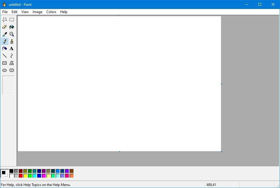 Paint de Windows XP