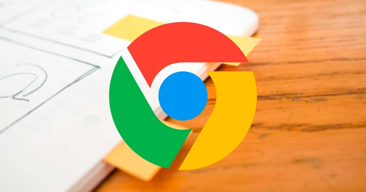 Pestañas etiquetas Chrome
