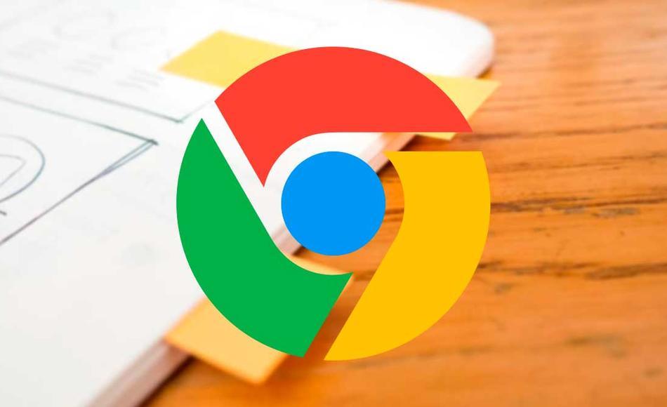 Pestañas etiquetas Chrome