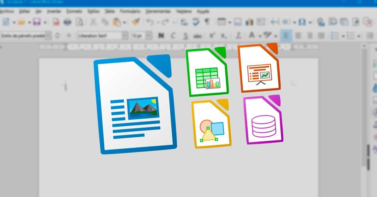 Programas LibreOffice con Writer