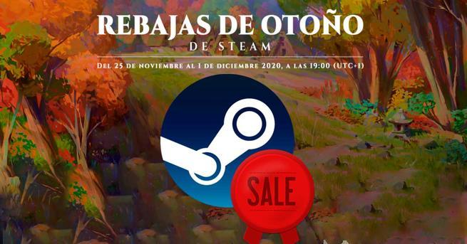 Rebajas otoño 2020 Steam