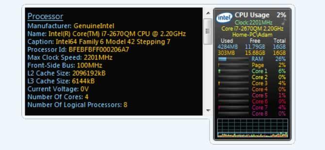 All CPU Meter