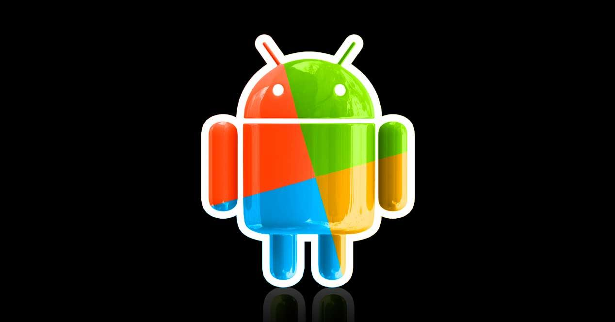 Android colores Windows