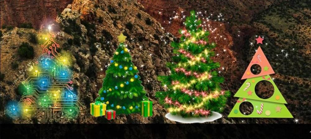 Árboles Navidad Windows