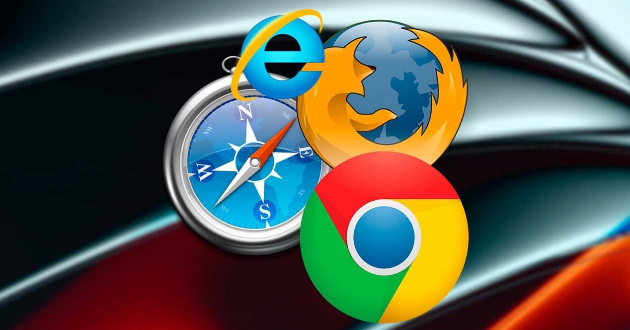 Navegadores web a elegir