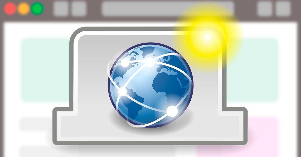 Nueva pestaña navegador web
