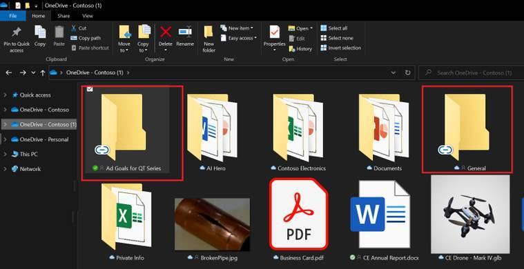 OneDrive-mattan compartidas vinculadas