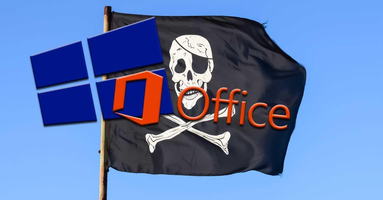 Piratear office windows