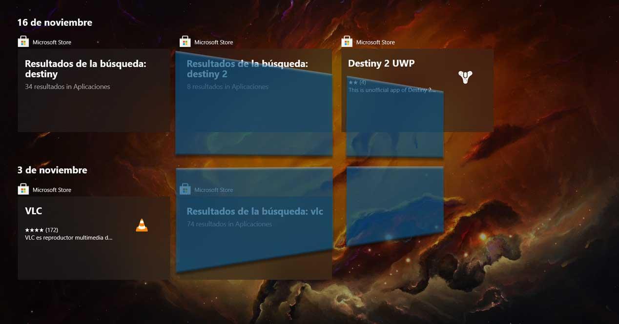 Timeline Windows