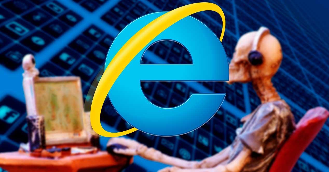 Viejo Internet Explorer