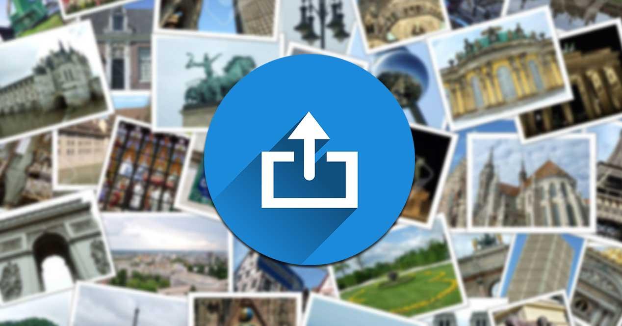 Webs subir y compartir imágenes