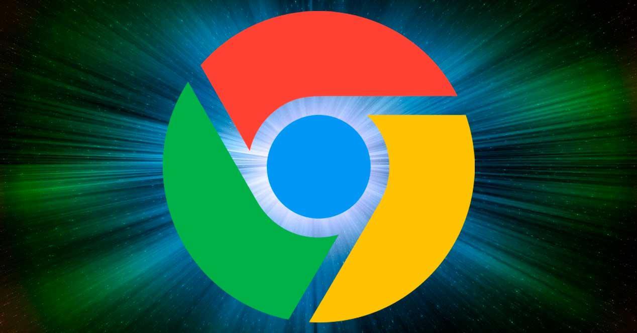 Chrome velocidad luz