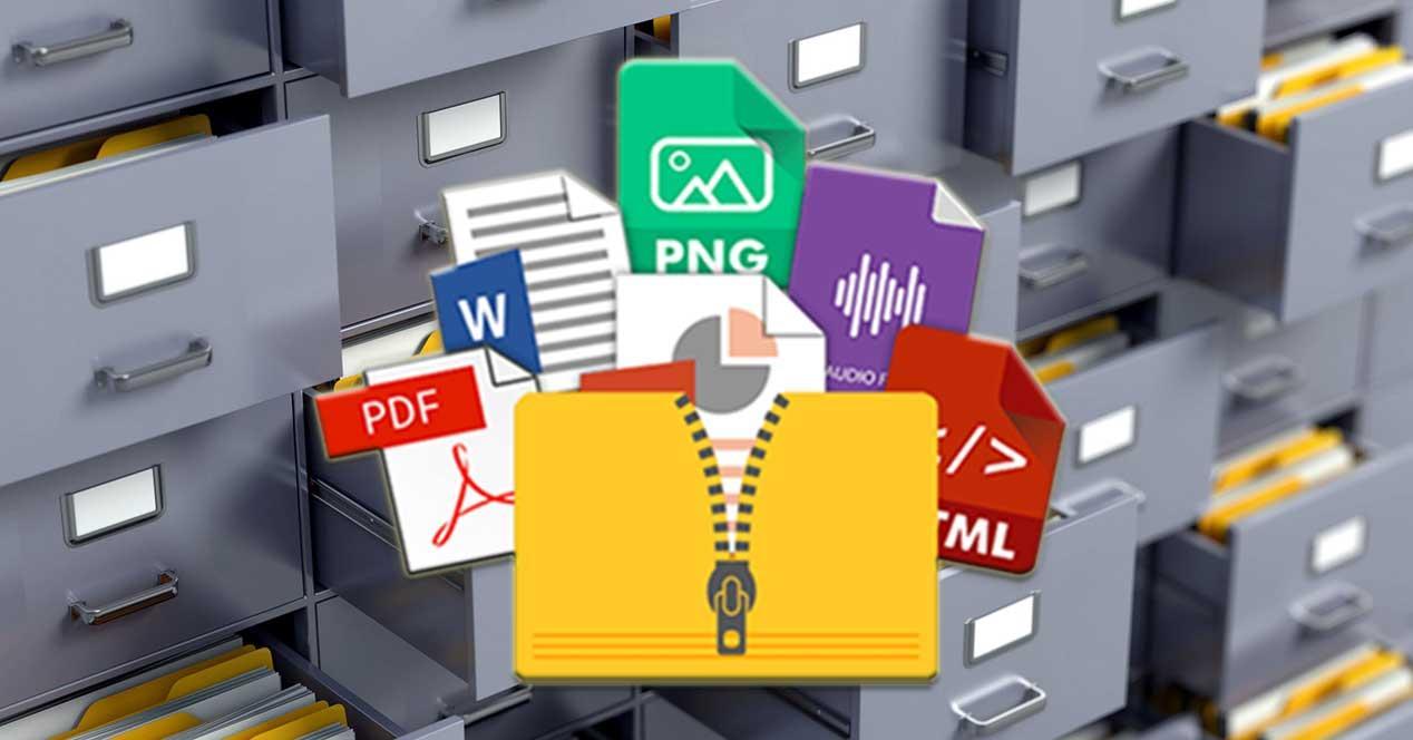 Compresores de archivos