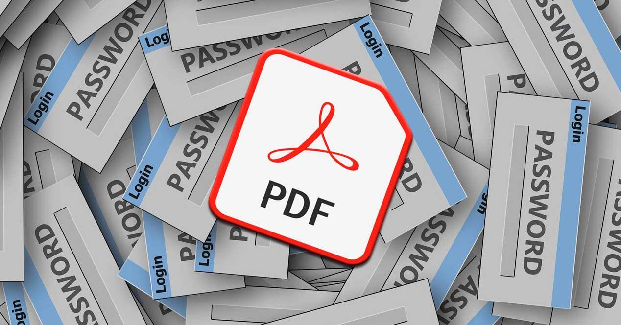 Contraseña PDF