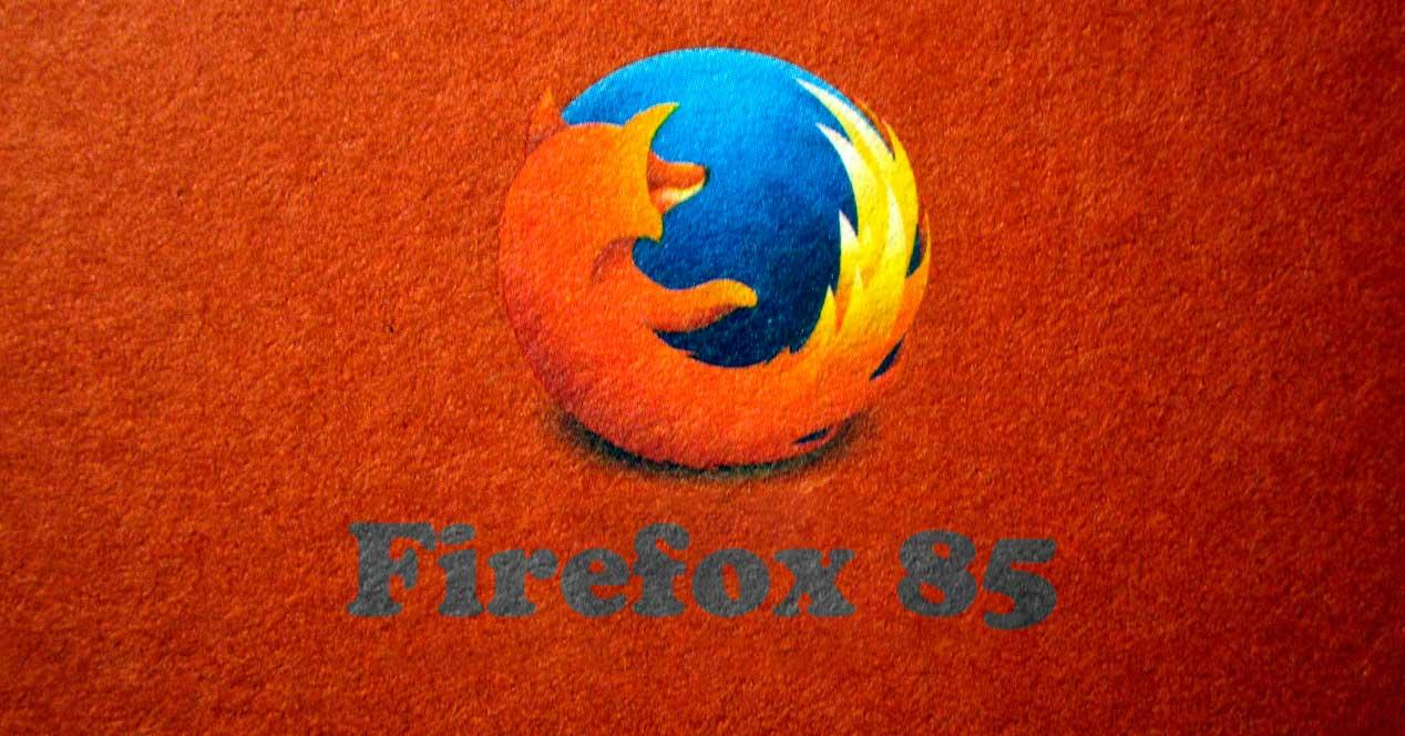 Firefox 85 logo
