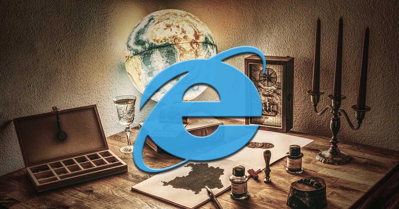 Internet explorer anticuado