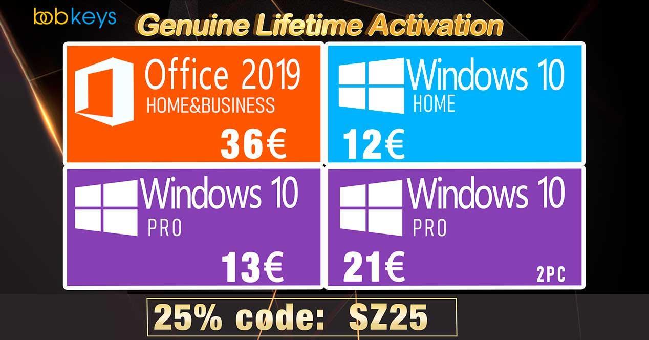 Ofertas claves Windows bobkeys