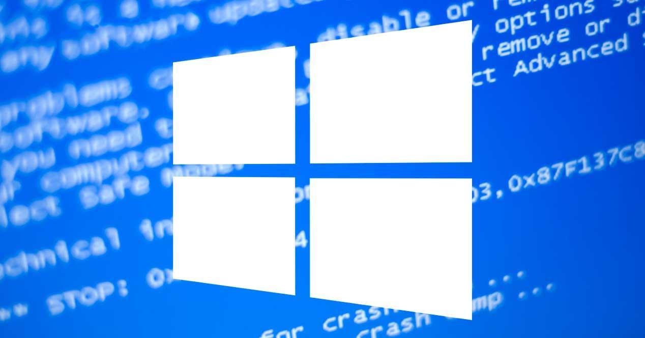 Pantallazo azul error Windows
